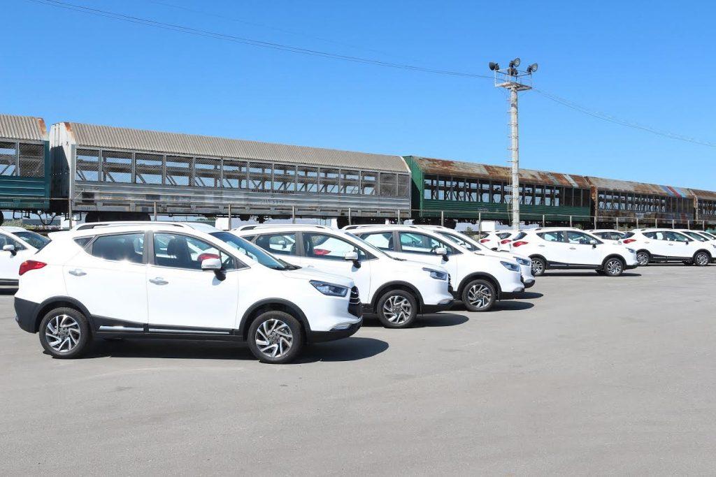 Компания AllurGroup отгрузила первую партию популярных в РК автомобилей JAC