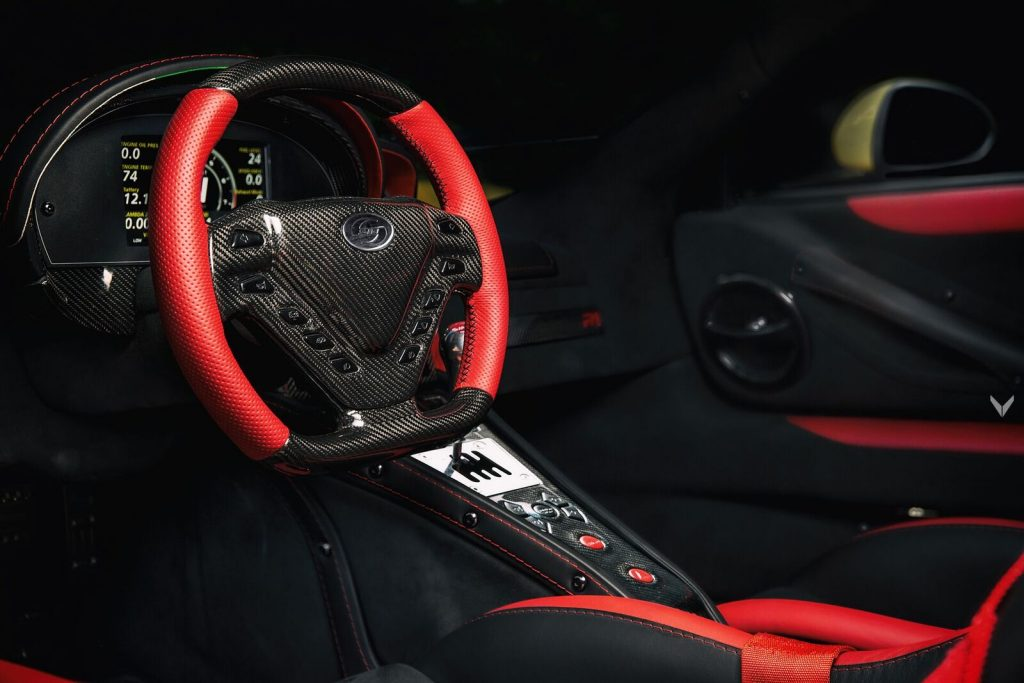 """""""Pagani"""" quality from Vilner inside the Bulgarian supercar Sin R1"""