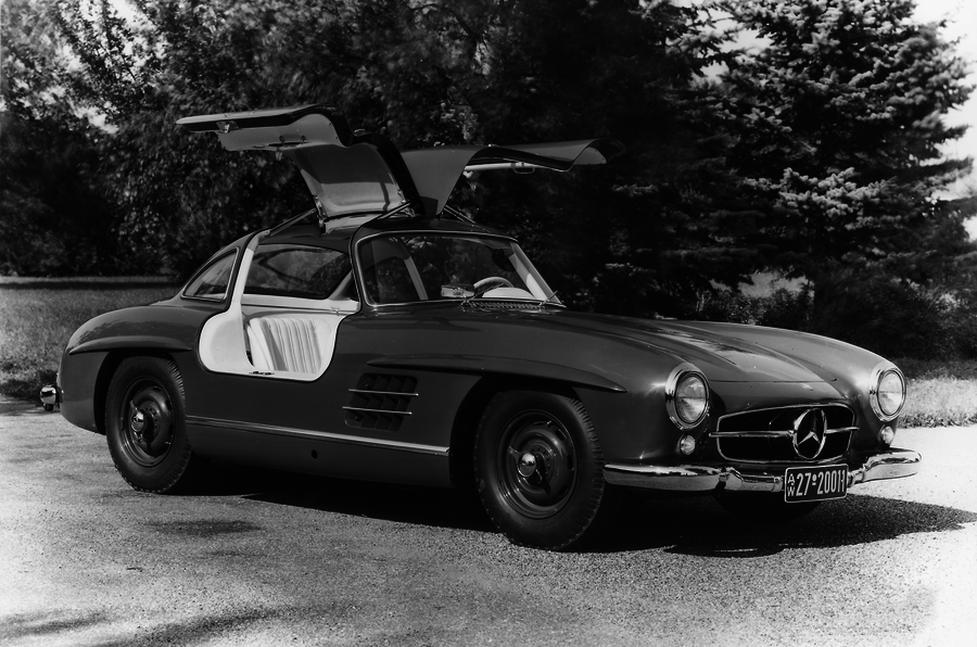 1955 Mercedes-Benz 300 SL дорожный тест