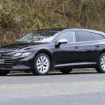 2021 Volkswagen Arteon Shooting Brake замечен без маскировки